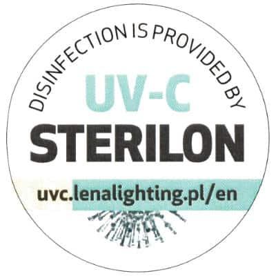 Siegel Sterilon Desinfektion